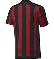 Adidas AC Milan Home Replica Player Shirt 2015/16, Black/Victory Red/Granite
