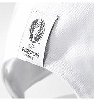 Adidas Germany 3 Stripes Cap Cappelino calcio, White