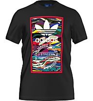 Adidas Color Pattern T-Shirt fitness, Black