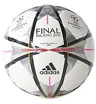 Adidas Mini Finale Milano - Minifußball, White/Black/Pink