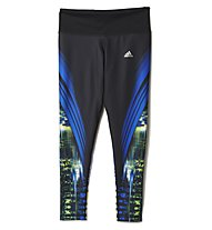 Adidas Go-to-gear Tight Long Damen, Black/Multicolour