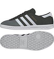 Adidas Hamburg - scarpe da ginnastica, Dark Grey/White