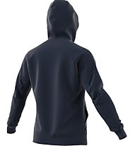 Adidas Hooded Track Top Giacca con cappuccio fitness, Blue