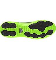 Adidas Messi 16.4 FxG J - scarpe da calcio bambino, Dark Grey/Green