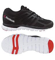 Reebok Sublite XT Cushion MT scarpa da ginnastica, Black/Red