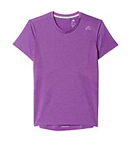 Adidas Supernova SS Tee Damen-Runningshirt, Purple