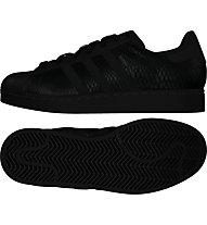 Adidas Originals Superstar scarpa ginnastica donna, Black
