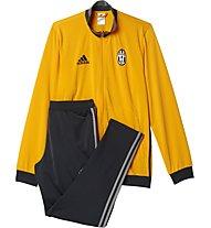 Adidas Tracksuit Juve Pes Suit Tuta sportiva Calcio, Yellow/Black