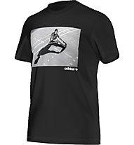 Adidas Originals Girl Tee T-Shirt fitness, Black