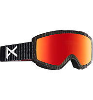 Anon Helix 2.0 - Skibrille, Black/Red