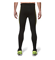 Asics Lite Show Winter Tight, Perf.Black/Safety Yellow
