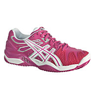 Asics W Gel Resolution 5 Clay, Fuchsia/White/Silver