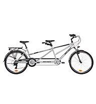 Atala Due Tandem-Fahrrad, Silver/Black