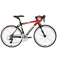 "Atala Speedy 22"" Shimano Kinder-Rennrad, Black/Red"