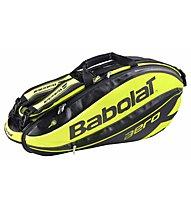 Babolat Racket Holder x6 Aero Tennistasche, Yellow/Black