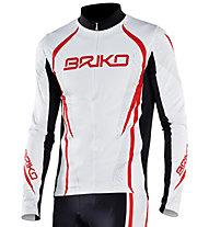 Briko Evo Race Shirt, White/Black/Red