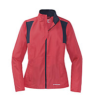 Brooks Essential Jacket W - giacca running donna, Pink/Navy