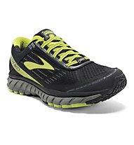 Brooks Ghost 9 GTX - scarpa running GORE-TEX, Black/Yellow