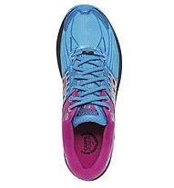 Brooks Glycerin 14 W - scarpe running donna, Blue/Pink