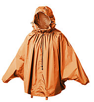 Brooks England Cambridge Rain Cap - Poncho, Orange
