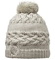 Buff Knitted & Polar Hat Savva donna, Cream
