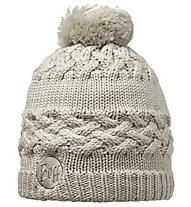 Buff Knitted & Polar Hat Savva Damen, Cream