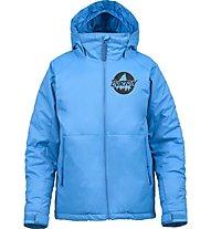 Burton Boys' Amped Snowboardjacke Kinder, Blue-Ray