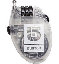 Burton Cable Lock Zahlenschloss, Clear