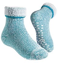 GM Merino Home Junior Socken, Turquoise
