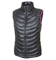 Camp Micro Vest Damengilet, Black/Pink