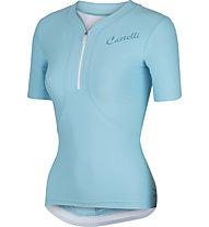 Castelli Bellissima Jersey - maglia bici da donna, Pastel Blue