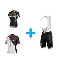 Castelli Radtrikot + Free Aero Race Bibshort Kit Version