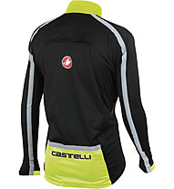 Castelli Confronto Jacket, Black/Yellow Fluo