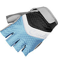 Castelli Elite Gel Handschuh, Aqua/Black/Silver