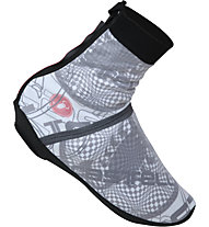 Castelli Pioggia 4 Shoecover, Black/White