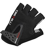 Castelli S. Rosso Corsa Glove, Black