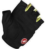 Castelli S2 Corsa W Glove, Black/White/Lime