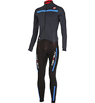 Castelli Completo bici Sanremo 2 Thermosuit, Blue Night/Drive Blue