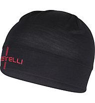 Castelli Wool Beanie Radmütze, Black