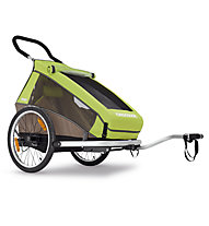 Croozer Kid for 1 2016, Meadow Green/Sand Grey