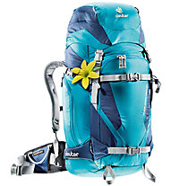 Deuter Rise Pro 32+ SL - zaino scialpinismo donna, Blue