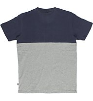 Everlast Jersey Mano Carbonio T-Shirt fitness, Grey/Blue