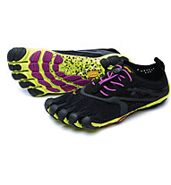 Fivefingers V-Run EVO 2 Women - scarpa running, Black/Yellow/Purple
