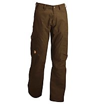 Fjällräven Karl pantaloni trekking, Black Brown