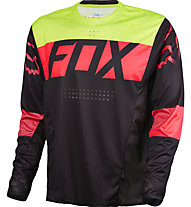 Fox Flexair DH LS Jersey Downhill-Shirt, Black