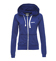 Freddy Brushed Fleece Light Hoody donna, Navy