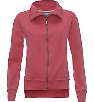 Freddy Brushed Stretch Fleece Giacca sportiva fitness donna, Red