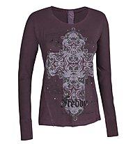 Freddy F4wad13 Shirt Maglia a maniche lunghe donna, Purple