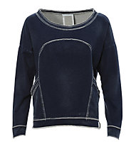 Freddy Sweatshirt Damen, Denim Blue