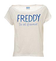 Freddy Training Color T-Shirt Damen, White